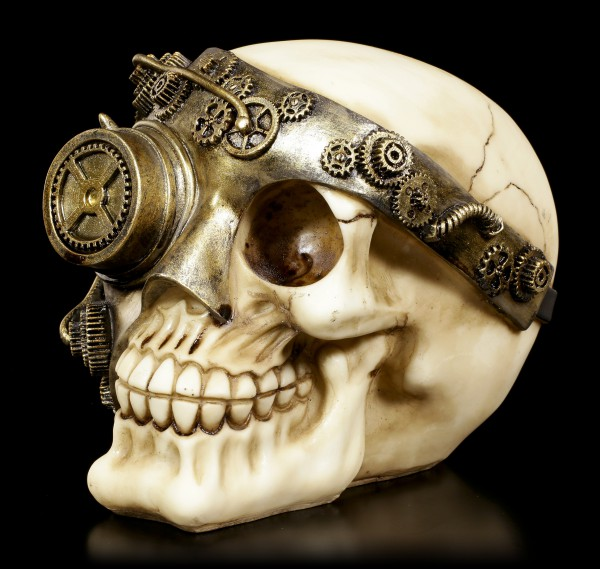 Steampunk Skull - Mechanic Eye