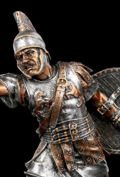 Gladiator Figur in Angriffshaltung
