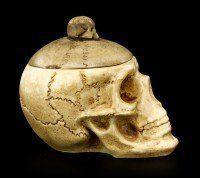 Box - Skull with Skullcap - small