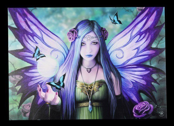 Large Canvas - Mystic Aura by Anne Stokes
