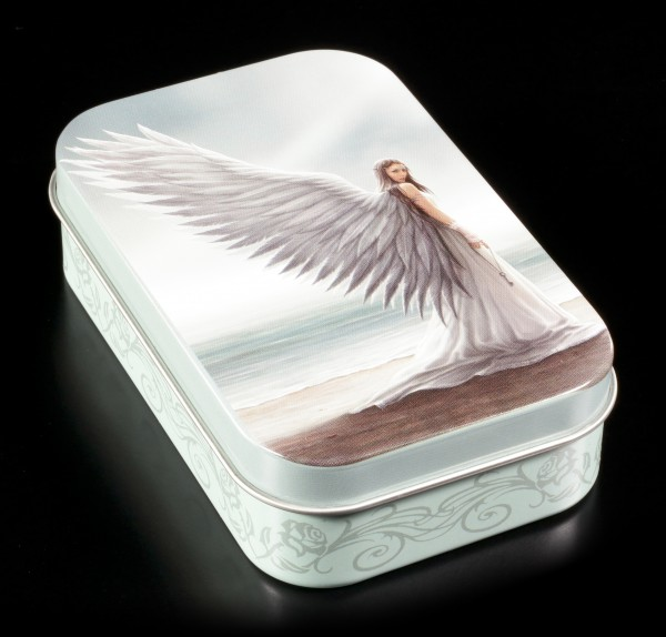 Metal Box with Angel - Spirit Guide by Anne Stokes