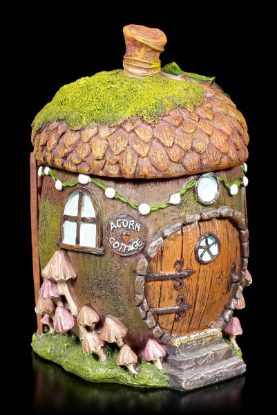 Fairy House Acorn Box - Home Sweet Home