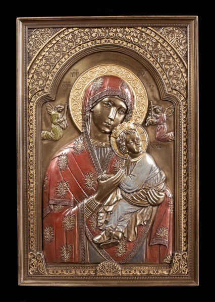 Wall Plaque Icon - Our Lady of Perpetual Help