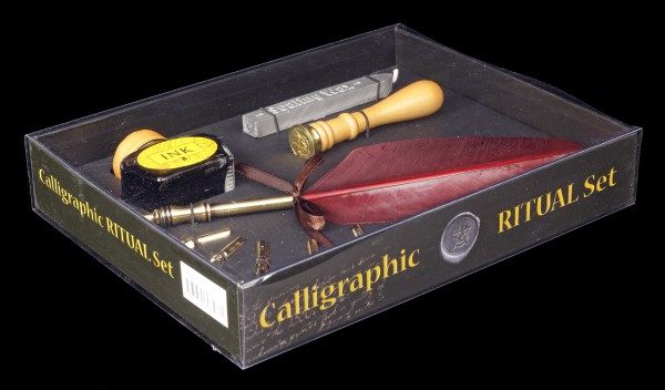 Calligraphy Set with Seal