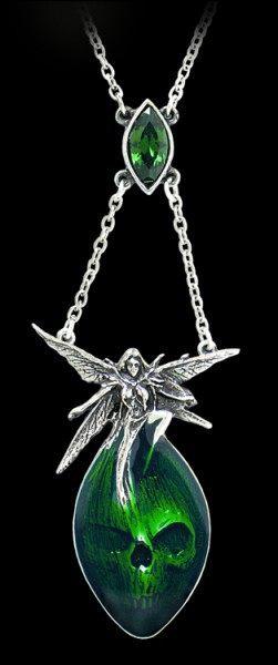 Absinthe Fairy - Alchemy Gothic Halskette