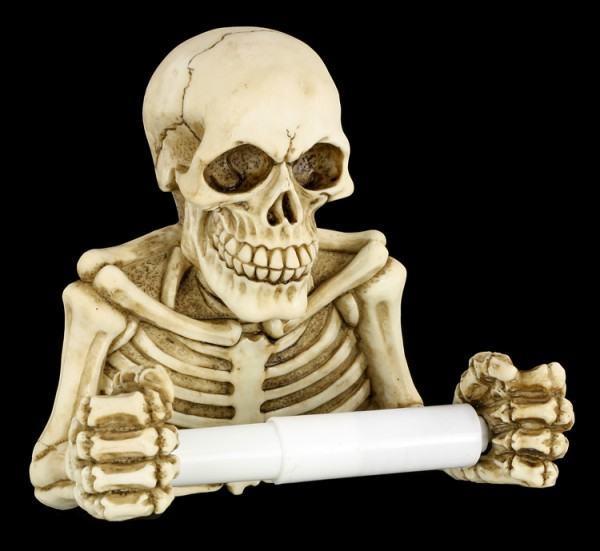 Toilet Paper Holder - Skeleton