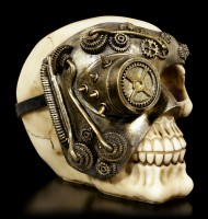 Steampunk Skull - Mechanic Eye