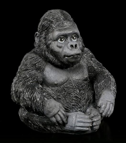 Gorilla Figurine - Sitting