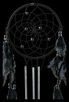 Dreamcatcher with Wind Chimes - Dark Melody