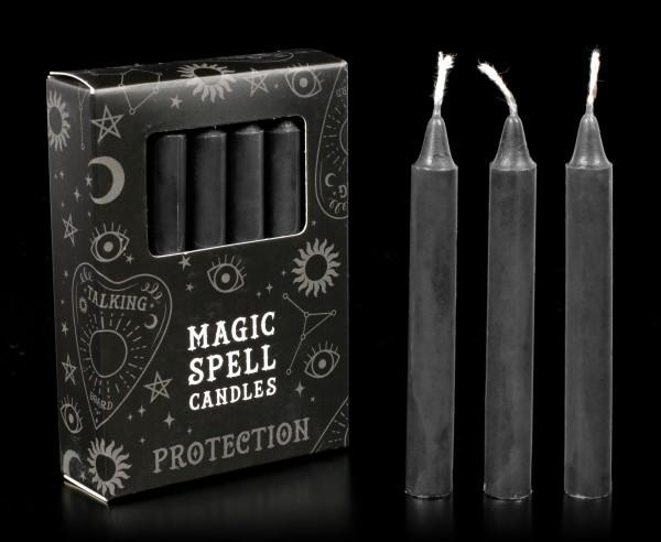 Magische Schwarze Kerzen - Protection