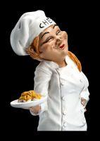 Funny Job Figur - Pasta Köchin