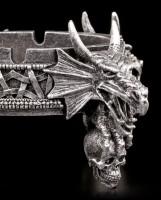 Drachenaschenbecher - vier Drachen