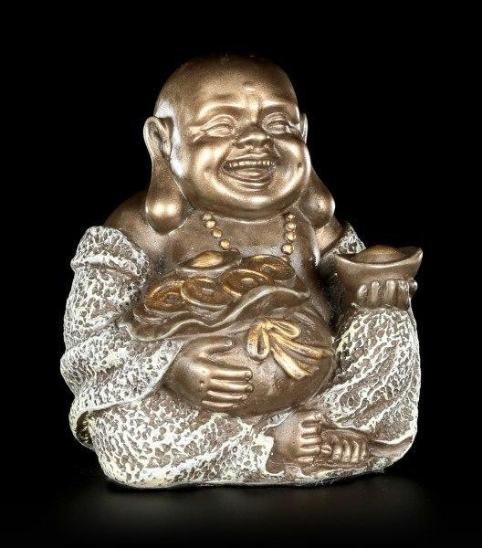 Happy Buddha Figur - Reichtum