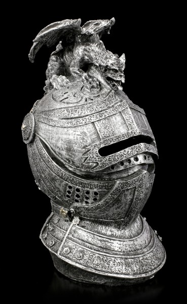 Knight's Money Bank - Helmet with Dragon