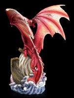 Dragon Figurine - Abraxas rips Ship in the Abyss