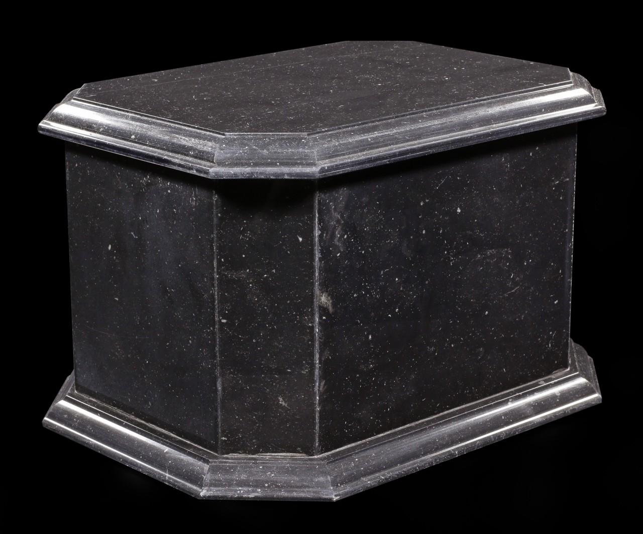 Marmor Tier Urne schwarz - Reverence