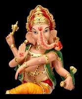 Dancing Ganesha Figurine