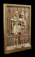 Egyptian Wall Ornament - Pharao with Queen