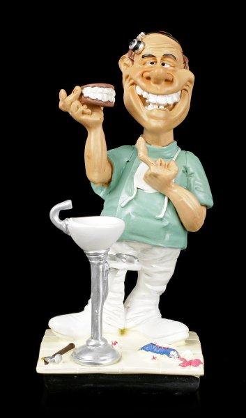 Funny Job Figurine - Dentist with Dentures