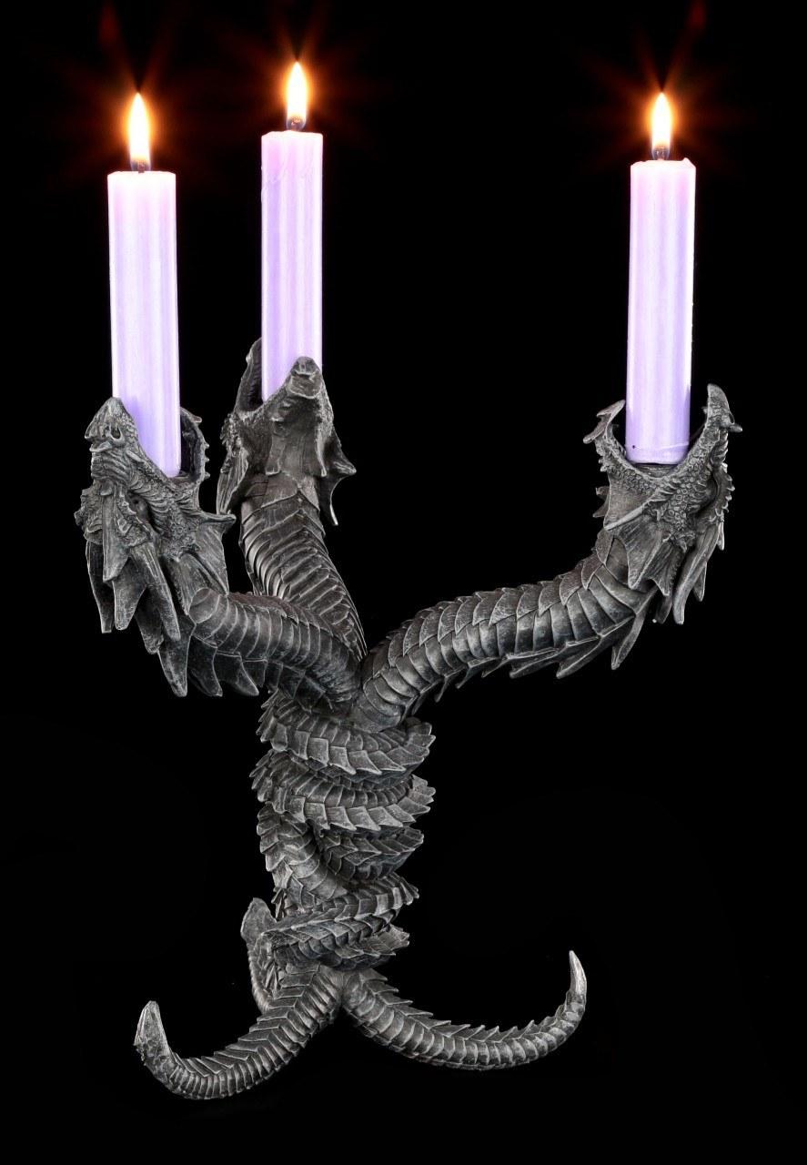 Dragon Candle Holder - Hydra