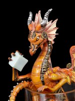 Dragon Figurine - Old Fashioned by Stanley Morrison