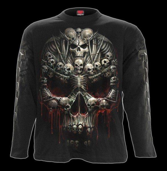 Death Bones - Skull Longsleeve
