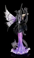 Elfen Figur mit Seedrache