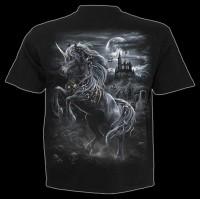 Dark Unicorn - Spiral Gothic T-Shirt