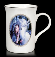 Mug with Unicorn - Solace by Anne Stokes
