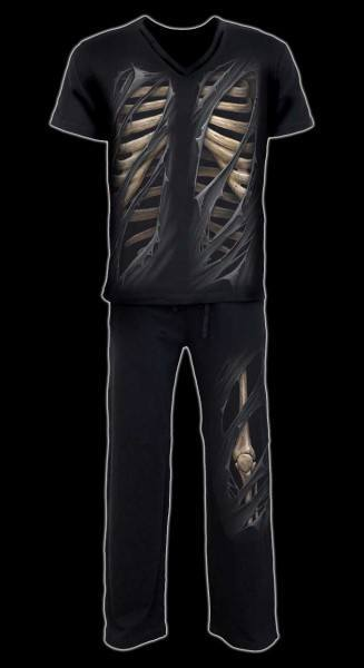 Bone Rips - Men Pyjama Set 4 pcs.