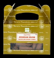 Backflow Incense Cones - Arabian Musk by Satya