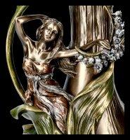 Art Nouveau Vase with Hyacinth
