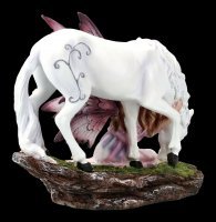 Fairy Figurine with Unicorn - Calmina
