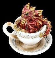 Dragon in Cup Figurine - Dracuccino Set