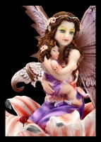 Fairy Figurine - Saelind in Flower with Baby
