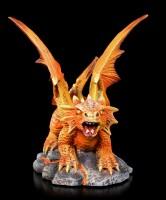Baby Fire Dragon Figurine