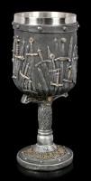 Großer Mittelalter Kelch - Sword of the King