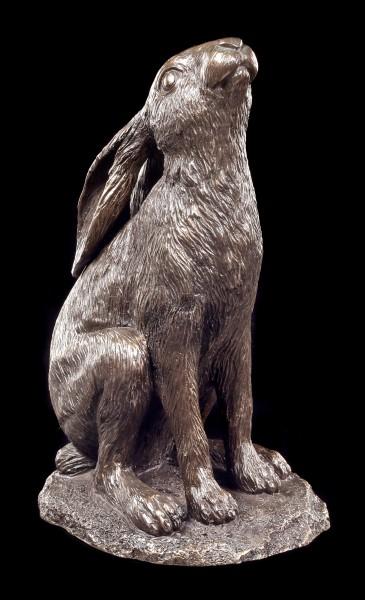 Wicca Hasen Figur - Mond anstarrend