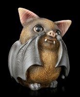 Three wise Bat Figurines - No Evil