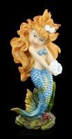Mermaid Figurine with Shell