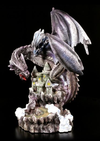 Dragon Figurine - Sirus on Castle