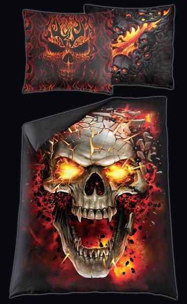 Totenkopf Bettwäsche - Skull Blast