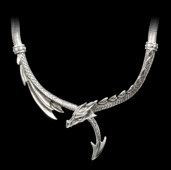 Alchemy Gothic Necklace - Dragon's Lure