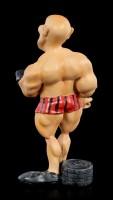 Funny Sports Figur - Bodybuilder mit Hantel