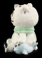 Furry Bones Figur - Polar Bear
