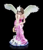 Engel Figur - Fiona mit goldenem Schlüssel