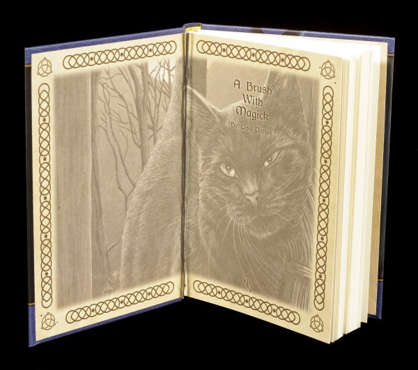 Embossed Journal - A Brush with Magic