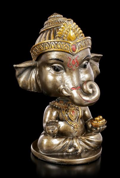Ganesha Wackelkopf Figur