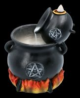 Backflow Incense Holder - Pouring Cauldrons