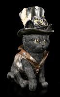 Katzen Figur - Steampunk Cogsmiths Cat